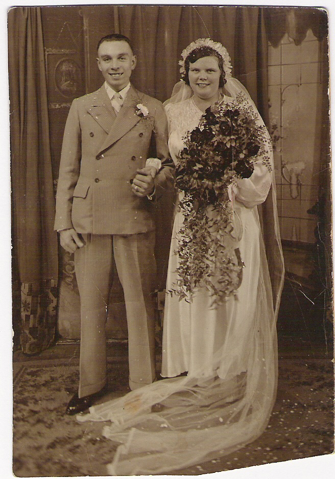 Fred and Rose Wedding Aug 1937